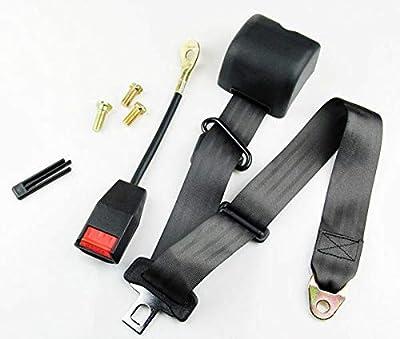 MB-THISTAR Universal 3 Point Retractable Auto Car Seat Belt Lap Shoulder Adjustable