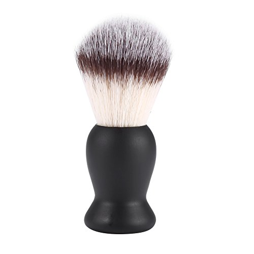 Shaving Brush Men Beard Mustache Trimming Nylon Hair Barber Salon Tool