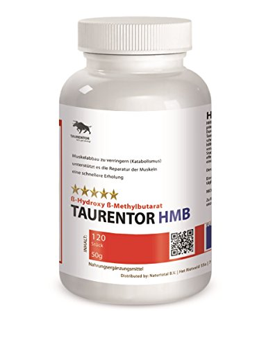 HMB Beta-Hydroxy-Beta-Methylbutirat Reduzierung des Katabolismus (Muskelabbau)120 Stück, 50g