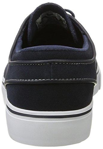 Nike Herren Zoom Stefan Janoski Skateboardschuhe Blau (dark Obsidian / Wit-wit)