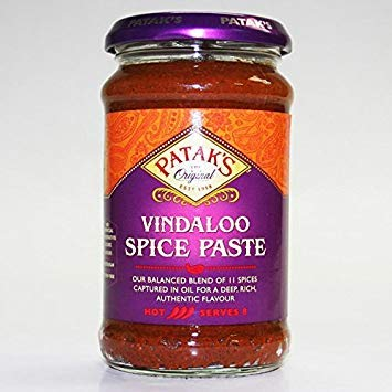 (Patak's Vindaloo Curry Paste 283gms(Pack of 2))
