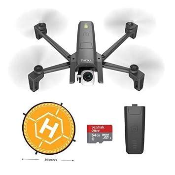 Parrot ANAFI Drone portátil con cámara HDR de 21 MP 4K y ...