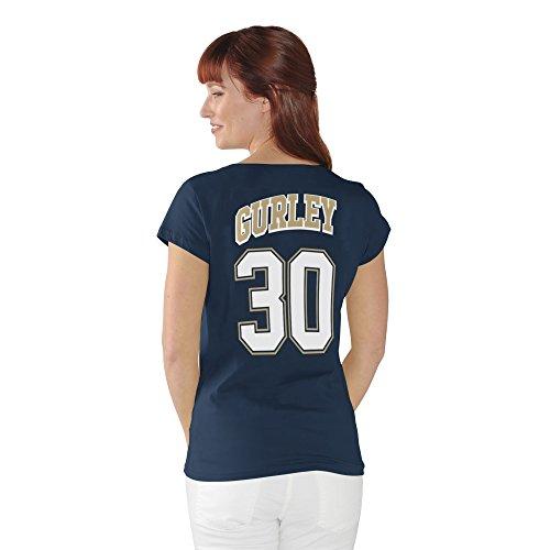Todd Gurley II Los Angeles Rams #30 NFL Women's Player T-Shirt (Medium)