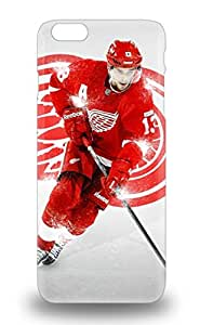 Iphone 6 Plus Hard Back With Bumper Silicone Gel Tpu 3D PC Soft Case Cover NHL Detroit Red Wings Logo ( Custom Picture iPhone 6, iPhone 6 PLUS, iPhone 5, iPhone 5S, iPhone 5C, iPhone 4, iPhone 4S,Galaxy S6,Galaxy S5,Galaxy S4,Galaxy S3,Note 3,iPad Mini-Mini 2,iPad Air )
