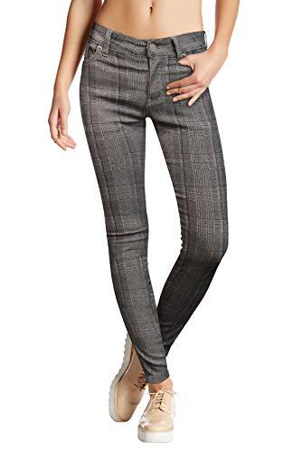 HyBrid & Company Womens Super Stretch Comfy Skinny Pants P44878SK Khaki XL