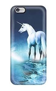 Dixie Delling Meier's Shop 9515091K705022745 unicorn horse magical animal moon Anime Pop Culture Hard Plastic iPhone 6 Plus cases