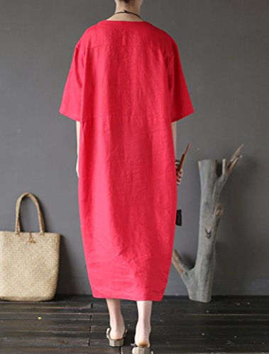 Matchlife Para Para Rosso Matchlife Rosso Mujer Vestido Vestido Matchlife Vestido Rosso Para Mujer Mujer OqPxHznT