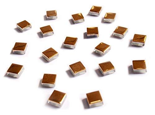 Metalic Gold Color Set Of 20 Pcs Refrigerator Magnets, Fridge Magnets, Glass Magnets, Whiteboard Magnets, Office Magnets for Magnetic Whiteboard, Calendar Magnets, Map Magnets (Gold Fridge compare prices)