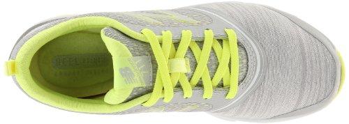888098214253 - New Balance Women's 711 Heather Cross-Training Shoe,Grey/Yellow,11 D US carousel main 6