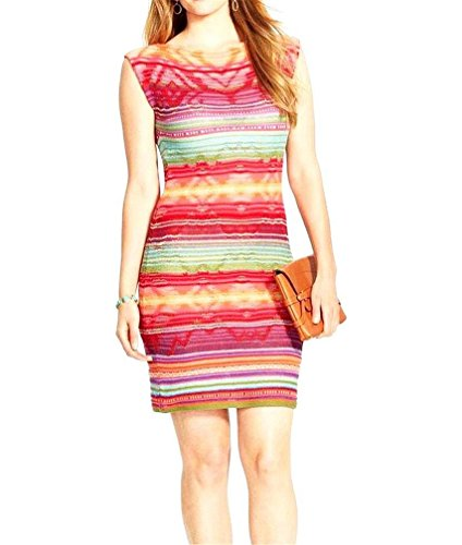 Cap Sleeve Petite Sweater - Lauren Ralph Lauren Women's Petite Stripe Linen & Cotton Cap Sleeve Sweater Dress, Multi (PM)