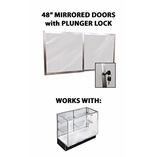 Mid-Atlantic Store Fixtures Mirrored Doors (Premium 5'' Showcase) by Mid-Atlantic Store Fixtures
