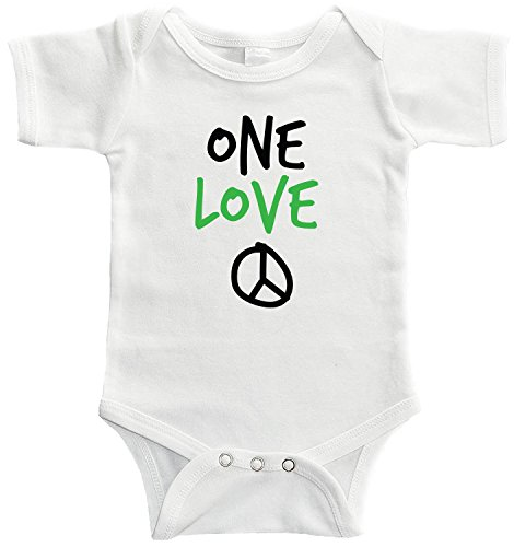Starlight Baby One Love Bodysuit (12-18 months, White) ()