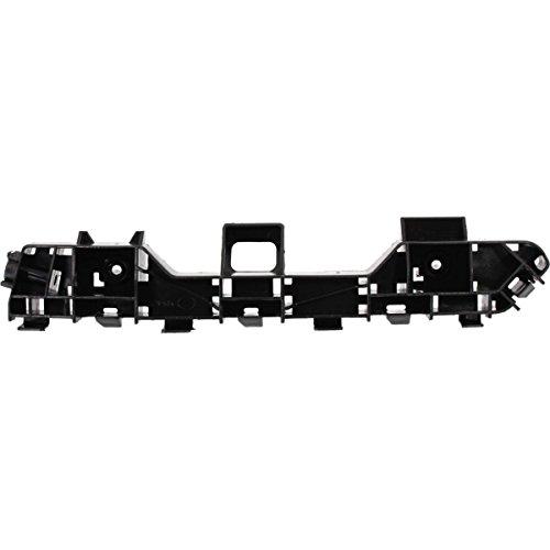 DAT 13-17 HONDA ACCORD FOR SEDAN 4DR BLACK PLASTIC FRONT BUMPER COVER BRACKET INSERT LEFT DRIVER SIDE ()