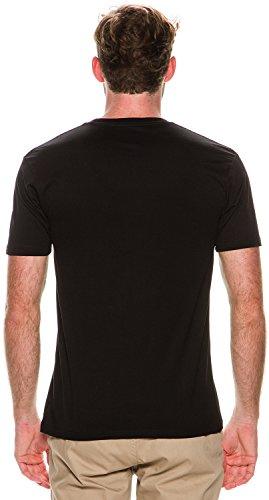 HUF Herren T-Shirt Schwarz schwarz