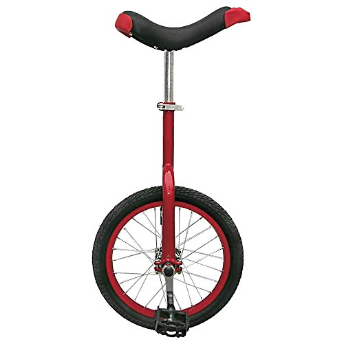 Fun 16 Inch Wheel Unicycle with Alloy Rim, Red