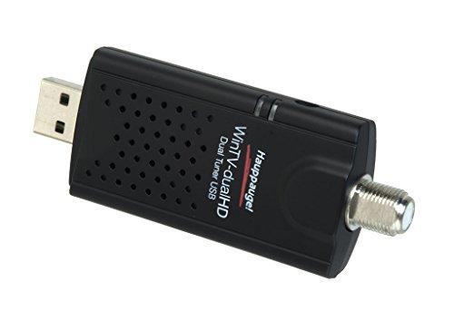 Hauppauge wintv-Dual hd Karte TV Tuner Externe USB schwarz