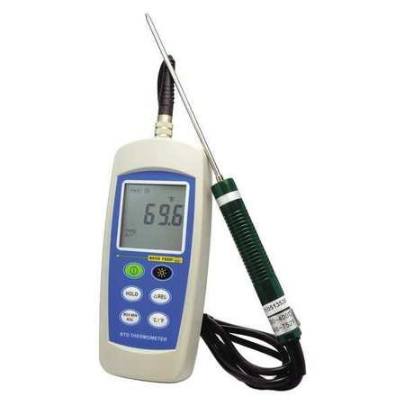 Thermco ACCD370P Single Pt100 Platinum certified Digitial Thermometer, -100°C to 300°C Range