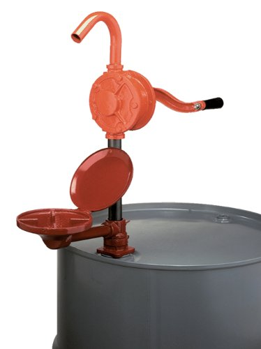 Wesco Industrial Products 272212 Cast Iron Deluxe Combo Rotary Drum Pump with Drip (Pump Drum Cover)