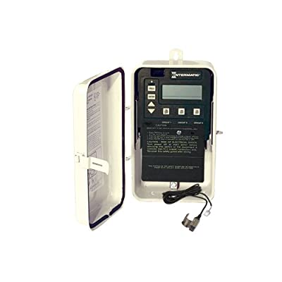 Intermatic PE153F Digital Clock Metal Enclosure Freeze Protection