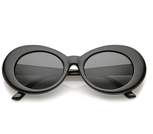 FOURCHEN Gafas de sol para mujer/hombre, Bold Retro Oval Mod ...