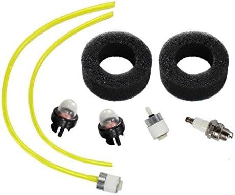 HURI Fuel Line Fuel Filter Primer Bulb for Troy Bilt TB3100BV TB310QS TB320 TB320BV Leaf Blower TB15CS TB75SS TB90BC String Trimmer