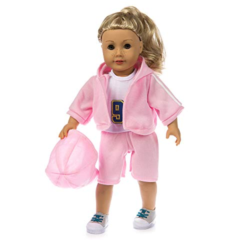 ifestyle Sportswear Suit for 18 Inch American Girl Doll Accessory Girl's Toy ()