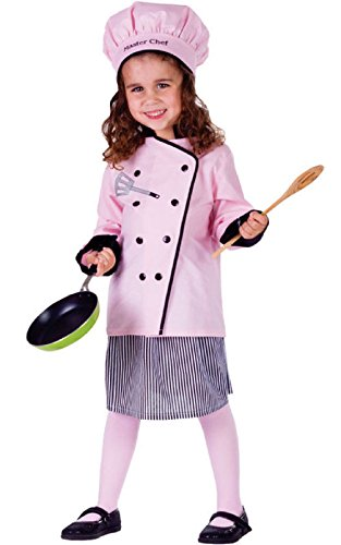 Girls Dreamy Genie Costumes - Master Girl Chef Toddler Child Costume