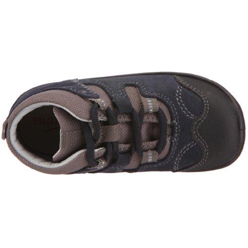 Superfit 5-337-81 - Zapatos de cuero nobuck para niños Azul