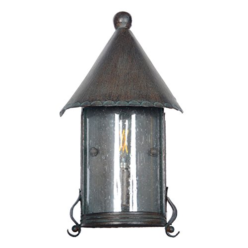 Elphin Outdoor Wall Half Lantern