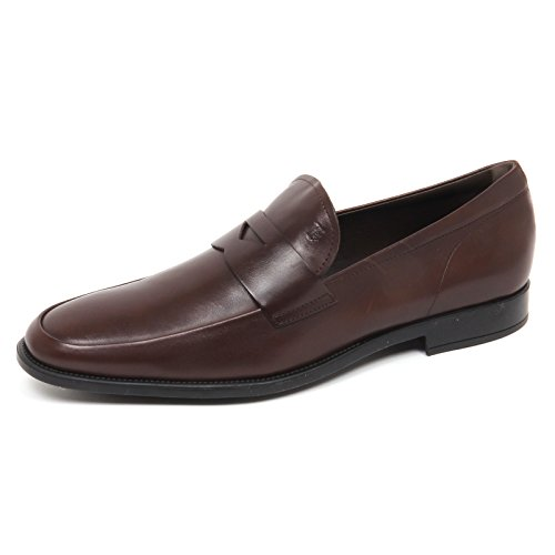 Tod's E2686 Mocassino Uomo Brown Scarpe Loafer Shoe Man marrone
