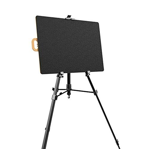 Dosenstek artista schizzo Tote Board legno pieghevole portatile artista disegno e bozze da 40/cm di larghezza x 54/cm di altezza nero