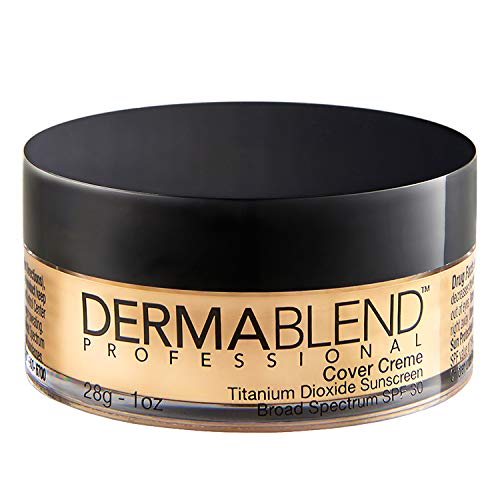 Dermablend Cover Creme, 30W Yellow Beige: For light skin with neutral undertones, 1 oz