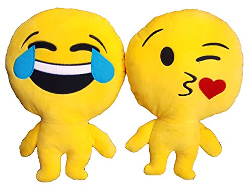 Set Of 3 Bewild Brand Emoji Man Cute Adorable Soft