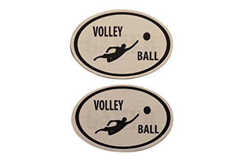 Fitness Bumper Stickers (VOLLEYBALL)