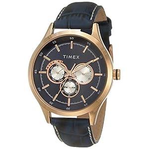 Timex Analog Blue Dial Men's Watch – TW000T310