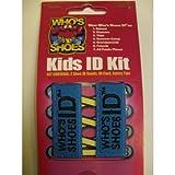 Who's Shoes Kids ID Kit (BLUE)