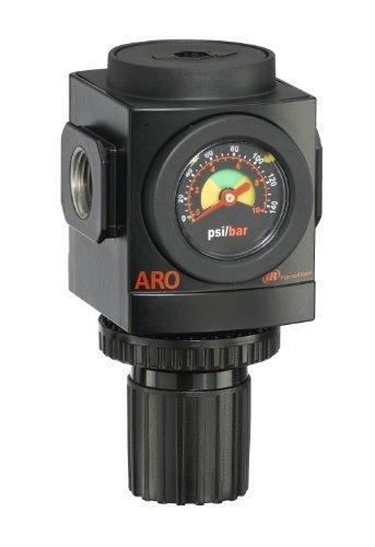 ARO R37341-600-VS Air Regulator 1/2 NPT, w/ Gauge - 250 psi Max Inlet by Ingersoll Rand - ARO by Ingersoll-Rand