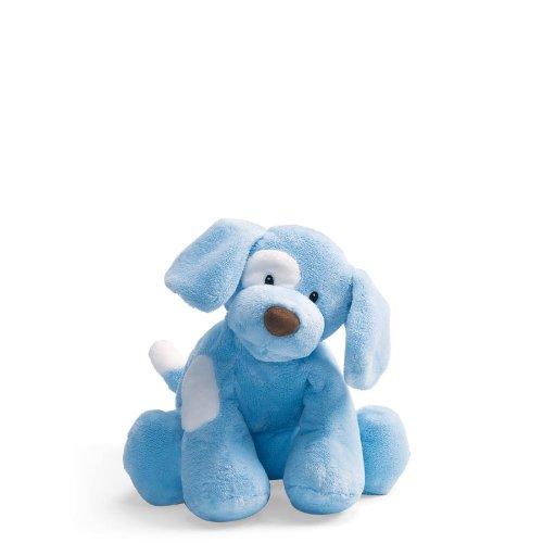 (Baby GUND Spunky Dog Stuffed Animal Plush, Blue,)