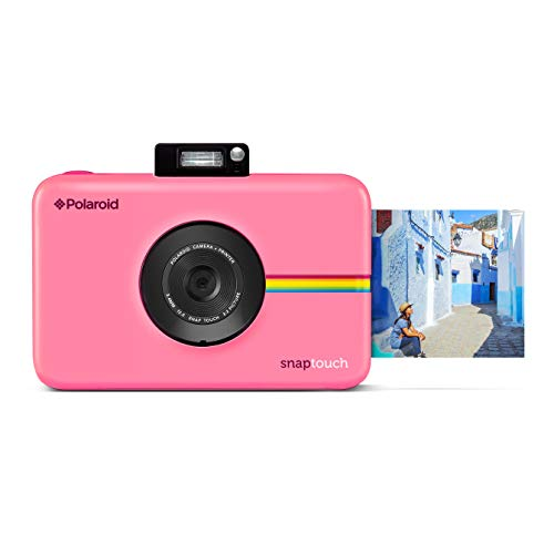 Polaroid Snap Touch Portable Instant Print Digital Camera with LCD Touchscreen Display (Pink) (Film The Button Polaroid)