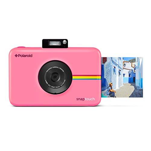 دوربین دیجیتال قابل چاپ سریع فوری قابل لمس Polaroid Snap Touch با صفحه نمایش لمسی LCD (صورتی)