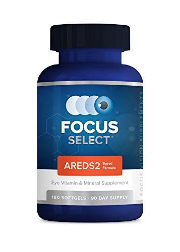Focus Select AREDS2® Eye Vitamin-Mineral Supplement, 180 ct (90 Day)