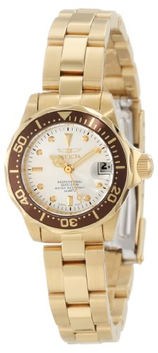 Invicta Women's 12525 Pro-Diver Silver Dial Watch