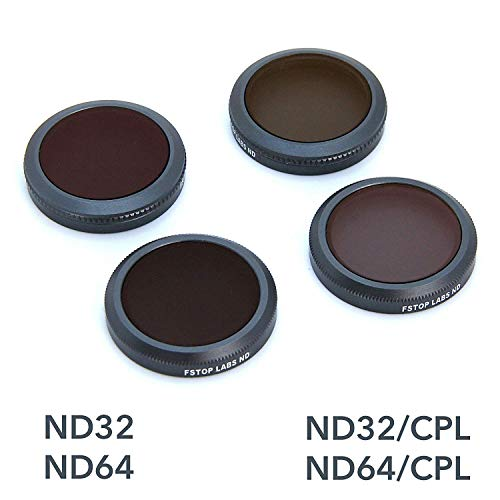 Lens Filters for DJI Mavic 2 Zoom Camera Lens Set, Multi Coated Filters Pack Accessories ND32, ND64, ND32/CPL, ND64/CPL (4 Pack)