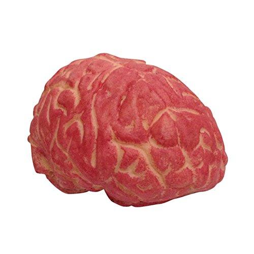 BleuMoo Terror Bloody Fake Brain Prank Soft Rubber Brain Halloween Party Props Decoration -