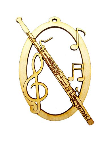 (Personalized Bassoon Ornament)