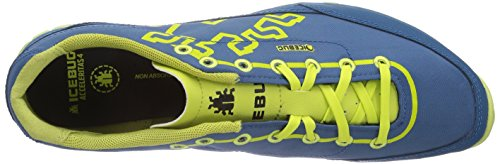 Icebug Mens Acceleritas4 Rb9x Traction Chaussure De Course Saphir / Poison