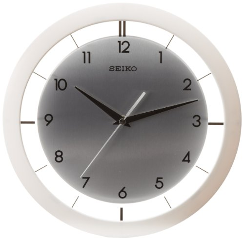 Seiko QXA520WLH Wall Clock (Seiko White Clock)