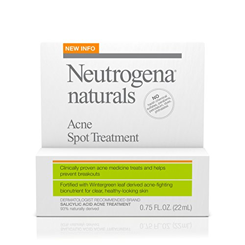Natural Treatment (Neutrogena Naturals Acne Spot Treatment, .75 Oz)