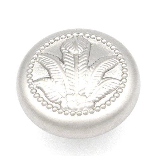 Hickory Hardware P7531-PN 1-3/8-Inch West Indies Knob, Pearl Nickel