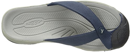KEEN Herren Waimea H2 Sandale Midnight Navy / Neutral Grau